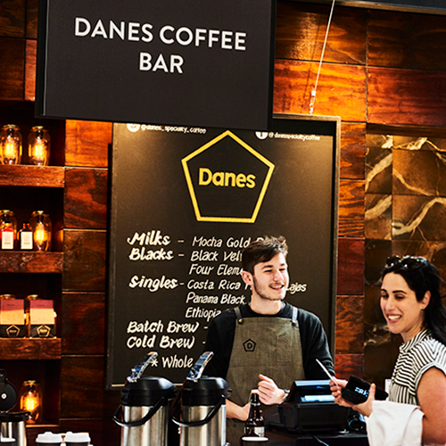 Danes Coffee Bar showcased in the Winning Tastes Pavilion at the 2018 Royal Melbourne Show